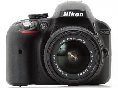 Nikon D3300 AF-P 18-55 VR Kit + δώρο τσάντα Nikon