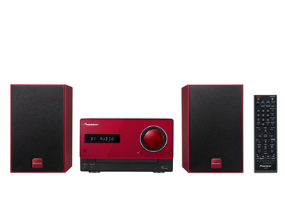 Pioneer X-CM35-R Micro Hi-Fi Red